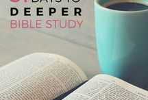 Bible Study + Prayer Life / pins, tips, and more for help with studying the Word