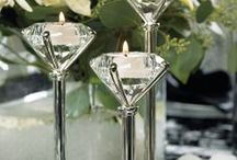 Diamond Theme Wedding / Diamonds are Forever! & so will your Diamond Theme Wedding be!