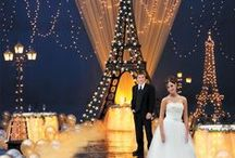 Paris Theme Wedding / For a wedding showcasing the romantic city PARIS!