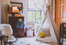 Aztec and Tribal Inspired Nursery Ideas / Tribal-inspired designs are so hot right now, and we think this trend is a natural fit for the nursery. Arrows evoke an adventurous spirit, Aztec prints add gorgeous color and pattern to the space and teepees are the perfect hideaway for our little adventurers! / by Project Nursery | Junior