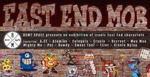 'East End Mob' exhibition at BSMT