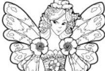 Coloring Pages / To entertain myself and kids. Some may be used for embroidery and other crafts. / by Sharon Hopper