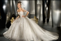 A Wedding Gown / by Sharon Bryant