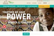 Non-Profit Websites / A somewhat curated collection of awesome charity websites. / by Holly Wagg