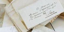 Ephemera / Snail mail, ephemera, love letters, philately, vintage paper