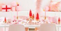 Pastel Christmas / Pink Christmas, Pastel Christmas, Pink Holiday Decor, Kitsch Holiday, Kitsch Christmas, Mid Century Holidays, Mid-Century Christmas, Mid-Century Decor