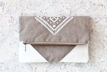 Bag It / Inspiration for bags...totes, beach bags, baby bags, clutches etc