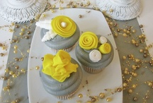 Baby Shower {Yellow Party Ideas} / Adorable baby shower or birthday party with yellow decor.   Party food, craft, favor and styling ideas.   For more ideas http://blog.thecelebrationshoppe.com  / by Kim {The Celebration Shoppe}