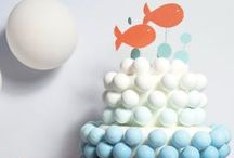 Birthday Party {Deep Blue Sea Nautical Party Ideas} / Under the Sea party food, craft, favor and styling ideas for hosting the perfect nautical birthday party for your pirates and mermaids.   For more ideas http://blog.thecelebrationshoppe.com / by Kim {The Celebration Shoppe}