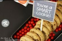 Back to School Party Ideas / Fun back to school snack and craft ideas to host the perfect party! ~ curated by Kim Byers of TheCelebrationShoppe.com