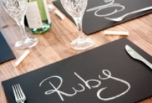 Entertaining {Tables & Placesetting Ideas} / Table and place setting ideas, centerpieces, placecards, and tablescapes   For more ideas http://blog.thecelebrationshoppe.com