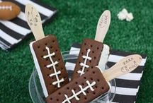 Special Occasion {Super Bowl & Football Party Inspiration} / Football and Super Bowl party ideas including food and crafts / by Kim {The Celebration Shoppe}