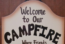 Camping Fun - Outdoor Ideas / Camping is one of our favourite things to do!  When we aren't camping we love to hang out in our backyard and entertain!   / by Sherri Leigh Stubbington