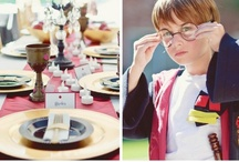Birthday Party {Harry Potter Party Inspiration} / Throw a party straight out of Hogwarts with simple fun food, craft, favor and styling ideas for hosting a Harry Potter birthday party!  Your little wizards will love this magical party. For more ideas http://blog.thecelebrationshoppe.com / by Kim {The Celebration Shoppe}