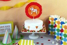 Birthday Party {Circus Party Ideas} / Party under the Big Top!   Circus and carnival birthday party ideas - decorations, carnival party games, carnival food, photo booth props,  invitations.     For more ideas http://blog.thecelebrationshoppe.com / by Kim {The Celebration Shoppe}