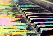 music makes the world go 'round / I need music like I need air to breathe