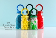 Birthday Party {Olympic Games Party Ideas} / Go for Gold!  Olympic birthday party ideas including food, games, party supplies and crafts.   Let the games begin!  For more ideas http://blog.thecelebrationshoppe.com