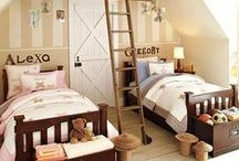 Home {Creative Kids Rooms} / Creative ideas for kids bedrooms and play areas.   For more ideas http://blog.thecelebrationshoppe.com