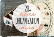 Home Organization / by Miller and Smith