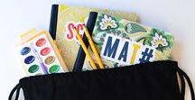 Back to School - Supplies & Fun Finds / Celebrate back to school with these fun supplies, printables and first day of class ideas!  Plus lunch box ideas and first day of school photo ideas.  Curated by Kim Byers   For more ideas http://blog.thecelebrationshoppe.com