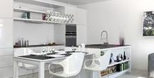 Pristine Whites / Whoever said white is boring, probably didn't know that it's the most versatile colour to play around with in your space.