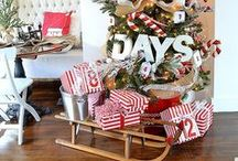 Holiday {Christmas Advent Calendars} / Crafty DIY Advent ideas for counting down the days until Christmas!  For more ideas http://blog.thecelebrationshoppe.com