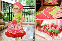Birthday Party {Strawberry Shortcake Party Ideas} / Strawberry Shortcake birthday party ideas including food, games, party supplies and craft.  For more ideas http://blog.thecelebrationshoppe.com