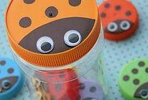Birthday Party {Ladybug Party Ideas} / Ladybug birthday party ideas including food, games, party supplies and crafts.  For more ideas http://blog.thecelebrationshoppe.com