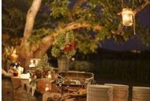 Entertaining {Outdoor Party Ideas} / Outdoor party ideas, outdoor entertaining and garden party ideas.    For more ideas http://blog.thecelebrationshoppe.com