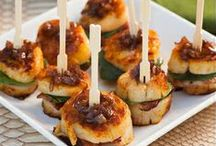 Foodie {Mini Foods & Appetizers} / No matter if you call them appetizers, mini foods, starters, hors d'oeuvres, or finger foods these recipes will be a definite hit at your next party or celebration.  For more ideas http://blog.thecelebrationshoppe.com / by Kim {The Celebration Shoppe}