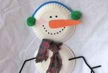 Holiday {Christmas Kid Crafts} / by Kim {The Celebration Shoppe}