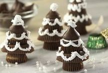 Holiday {Treats to Make the Turkey Jealous} / I've partnered with Hershey's and I'm going to share ideas to help you wow friends and family this holiday season with recipes from HERSHEY'S Kitchens.  For more ideas http://blog.thecelebrationshoppe.com