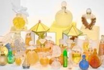 Lalique Perfume Bottles / Exquisite perfume bottles designed by famed glass makers Rene Lalique and Marc Lalique