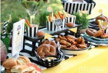 Birthday Party {Sports Themes} / Sports Theme Party ideas, foods, craft, favor and styling ideas for your MVP!  For more ideas http://blog.thecelebrationshoppe.com