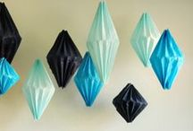 Crafts {Geometrics} / Geometric in crafts, home décor, party supplies and cakes are all the trend! For more ideas http://blog.thecelebrationshoppe.com