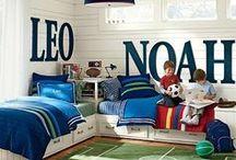 Quarto de meninos / ideias para decoração de quarto de meninos