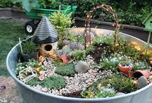 fairy gardens / fairy houses, garden ideas, and perhaps the occasional doll house / by Patti Reinheimer