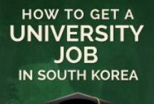 University Job Korea / How to get a university job teaching English in South Korea, all the tips, tricks and information you need!