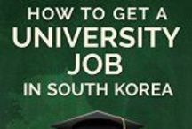 Korean University: Resumes, cover letter, and interviews