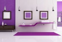 Deep Purple / Crazy about purple? We've got you covered with everything purple for your home here!