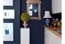 Navy Gravy / A royal blue colour that will add posh and panache to your home!