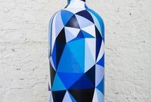 Bottle Delight / Let wine be your inspiration and turn the empty bottles into the multifaceted ornamental objects they are. Here are some non-exhaustive ideas to pour out your inner artist and some excuses to re-stock that minibar.