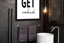 Bath & More / Get some inspiration on how to do up your bathroom with these amazing ideas.