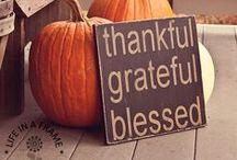 Thanksgiving (Fall) Ideas