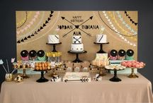 PARTIES / Party inspiration - kid's birthday, adult birthday, dinner parties, baby showers, bridal showers, and DIY projects / by Jenny @ jennycollier.com