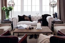 HOME:  Living Room / Living room furniture and decor / by Jenny @ jennycollier.com