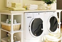Laundry room inspiration / by Anne Enright