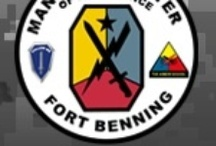 Fort Benning, GA / Fort Benning Board with PINS about Housing, Things To Do, and other useful information