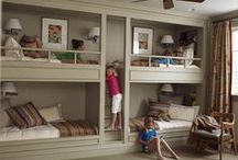 HOME:  Kid's Spaces / Kid's bedroom and playroom furniture and decor / by Jenny @ jennycollier.com