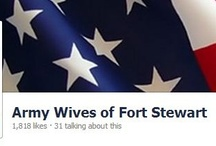 Fort Stewart, GA / Fort Stewart GA Board with PINS about Housing, Things To Do, and other useful information